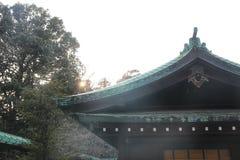 Japanese pavilion in the meiji shrine, Tokyo, Japan stock photography