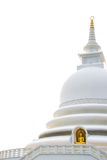 Japanese peace pagoda, Unawatuna Sri Lanka Royalty Free Stock Images