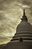 Japanese peace pagoda, Unawatuna Sri Lanka Stock Photography