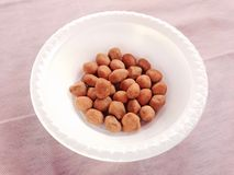 Japanese peanuts Royalty Free Stock Photo