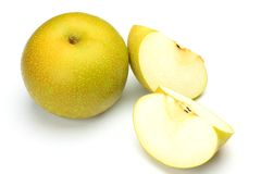Japanese pear Royalty Free Stock Photo