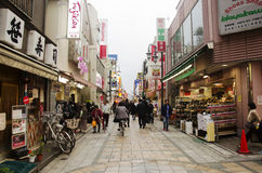 Japanese people and foreigner travelers walking and travel at Cr Stock Photography