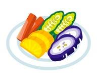 Japanese Pickled Vegetable Stock Photo