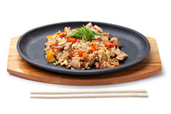Japanese pilaf Stock Photo