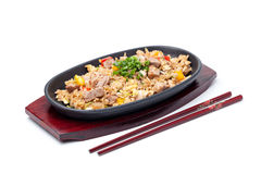 Japanese pilaf Royalty Free Stock Images