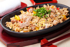 Japanese pilaf Royalty Free Stock Photo