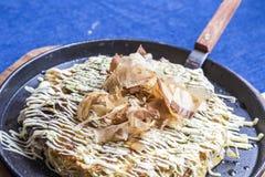 Japanese Pizza Okonomiyaki Stock Photos