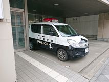 Emergency service Japan Police stock images
