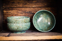 Japanese Pottery Stock Images
