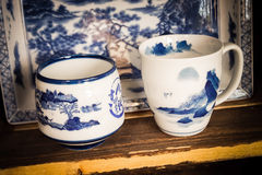 Japanese Pottery Stock Image