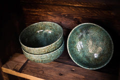 Japanese Pottery Royalty Free Stock Photo