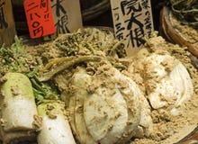 Japanese preserved radishes Royalty Free Stock Photos