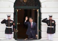 Japanese Prime Minister Shinzo Abe Stock Photo