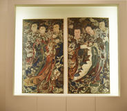 Japanese Print in the Museum of Oriental Arts in Rome Italy Royalty Free Stock Images