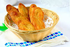 Japanese puff pastry Stock Image