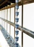 Japanese rain chain Stock Photography