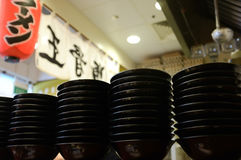 Japanese ramen. A picture of japanese ramen shop Royalty Free Stock Image