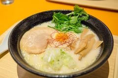 Japanese ramen royalty free stock photography