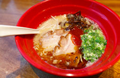 Japanese ramen noodle Stock Images
