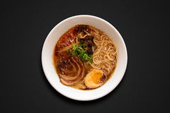 Japanese ramen noodles royalty free stock image