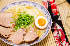 Japanese ramen noodles Royalty Free Stock Image