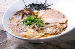 Japanese ramen soup Royalty Free Stock Photos