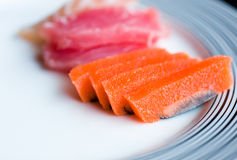 Japanese raw fish Stock Photo