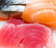 Japanese raw fish Stock Image