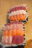 Japanese raw fish, sasimi Stock Photo