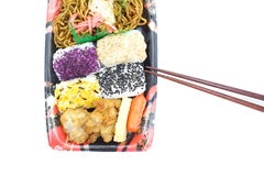 Japanese ready-made lunchbox, Bento Royalty Free Stock Photos