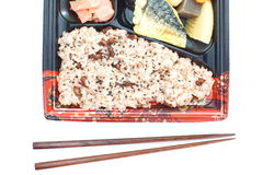 Japanese ready-made lunchbox, Bento Stock Image