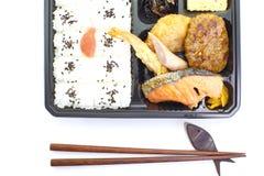 Japanese ready-made lunchbox, Bento Royalty Free Stock Photo