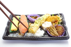 Japanese ready-made lunchbox, Bento Royalty Free Stock Image
