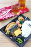 Japanese ready-made lunchbox, Bento Royalty Free Stock Photography