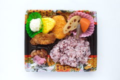 Japanese ready-made lunchbox, Bento Stock Photos