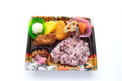 Japanese ready-made lunchbox, Bento Royalty Free Stock Photo