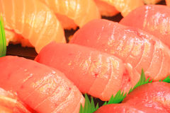 Japanese real sushi food Stock Photos