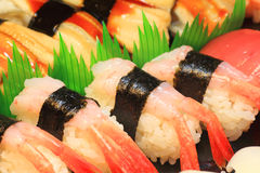 Japanese real sushi food Royalty Free Stock Images