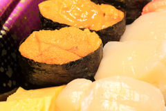 Japanese real sushi food Royalty Free Stock Photo