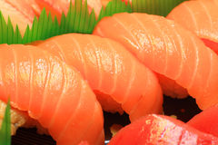 Japanese real sushi food Royalty Free Stock Photos