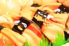 Japanese real sushi food Stock Image
