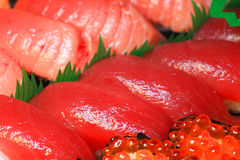 Japanese real sushi food Royalty Free Stock Photo