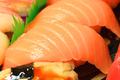 Japanese real sushi food Stock Photo