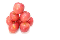 Japanese red apples mount in the white #2 Stock Photos