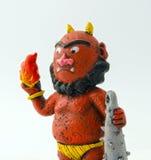 Japanese red demon figurine Stock Photography