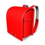 Japanese Red School Bag Stock Photo