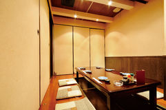 Japanese Restaurant Stock Photography