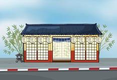 A Japanese restaurant Royalty Free Stock Photos