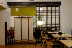 Japanese restaurant Royalty Free Stock Images