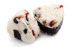 Japanese Rice Ball Stock Images